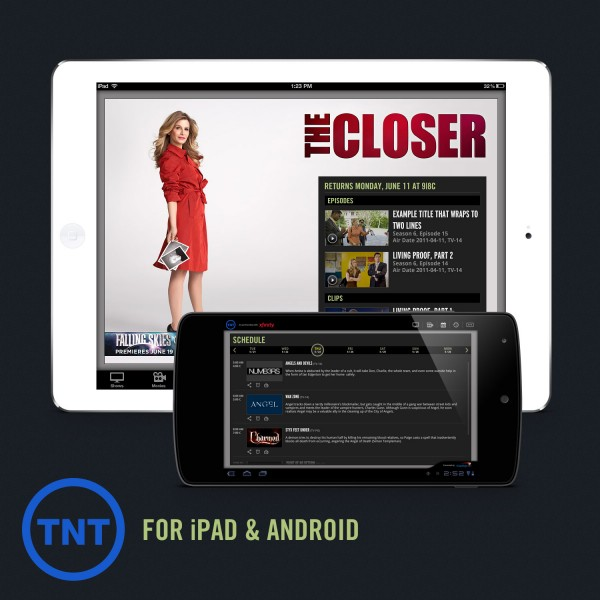 TNT for iPad & Android