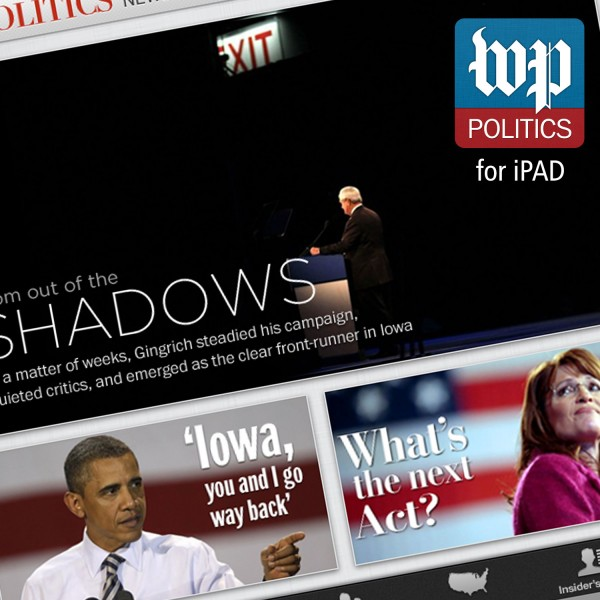 Washington PostPolitics for iPad